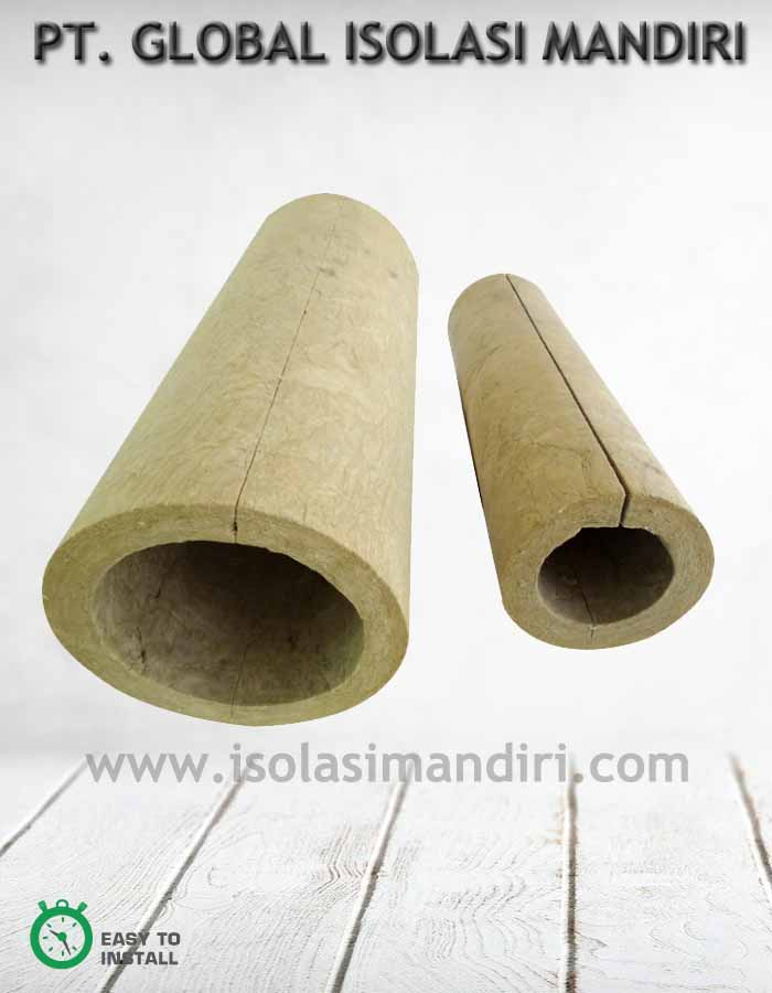JUAL ROCKWOOL PIPE SECTION