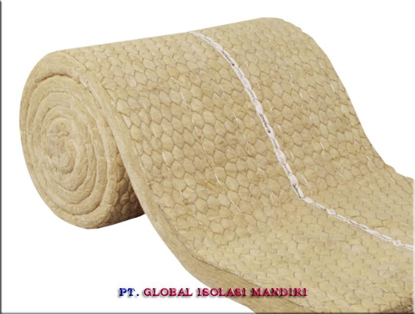Jual Rockwool Wire Blanket Murah