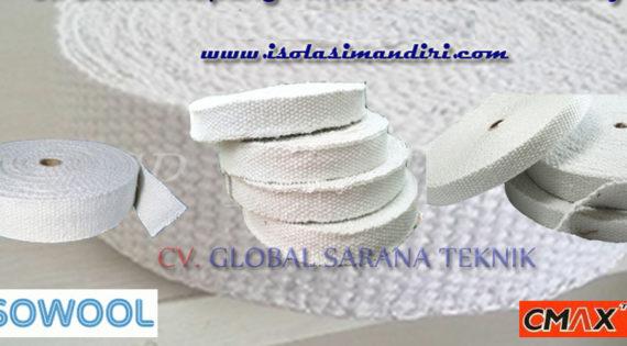 Ceramic Fiber Tape Distributor Isolasi