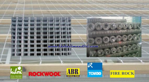 Roof mesh Kawat Penahan Insulation