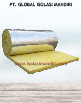 Jual Glasswool Aluminium Foil D32