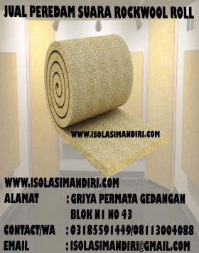ROCKWOOL MODEL ROLL INSULASI D60