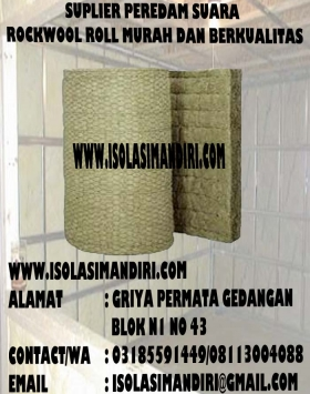 ROCKWOOL ROLL PEREDAM SUARA D100