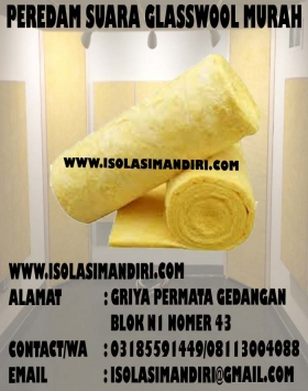 Glasswool Density 16/25 Peredam Suara