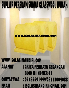 glasswool peredam suara 25mm