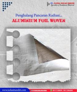 Aluminium Foil Woven Penghalang Radiasi