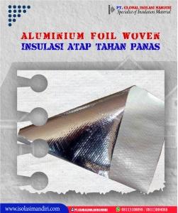 Peredam Atap Aluminium Foil Woven