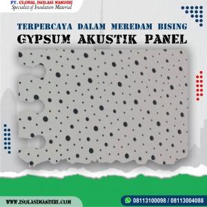 Gypsum Akustik 9mm Murah