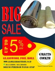 Glasswool Foil 25mm