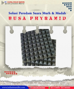 Peredam Busa Piramid